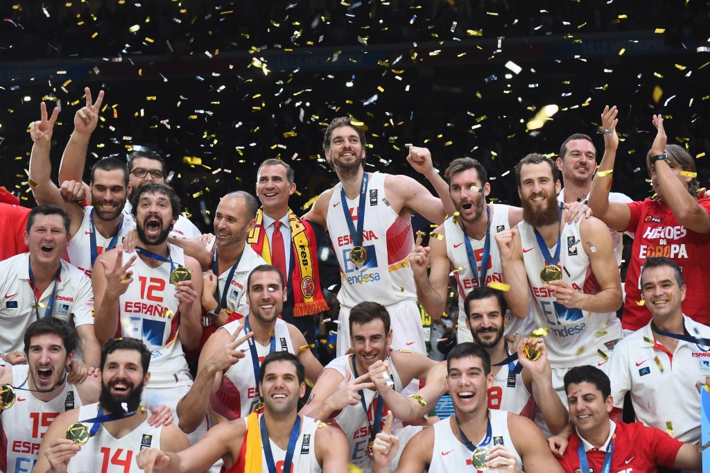 Spain won the 2015 edition of EuroBasket by beating Lithuania in the final