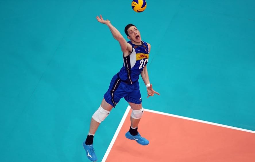 Gabriele Nelli scored a match-high 28 points as Italy defeated the United States ©Getty Images