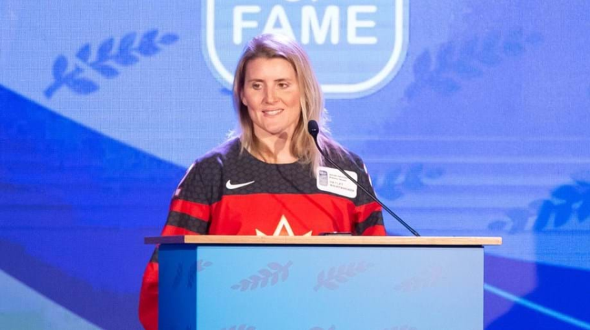 Canada legend and IOC member Wickenheiser flattered by IIHF Hall of Fame induction