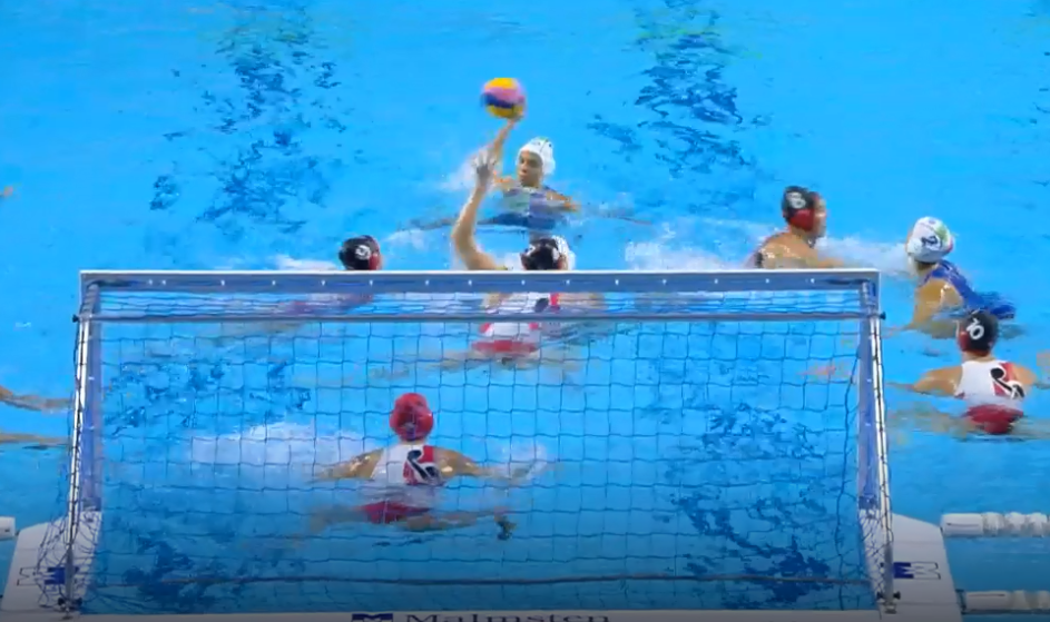Arianna Garibotti scored five times as Italy beat Canada 14-10 in their quarter-final ©FINA