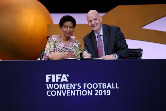 FIFA and UN Women sign Memorandum of Understanding on closing day of Women's Football Convention