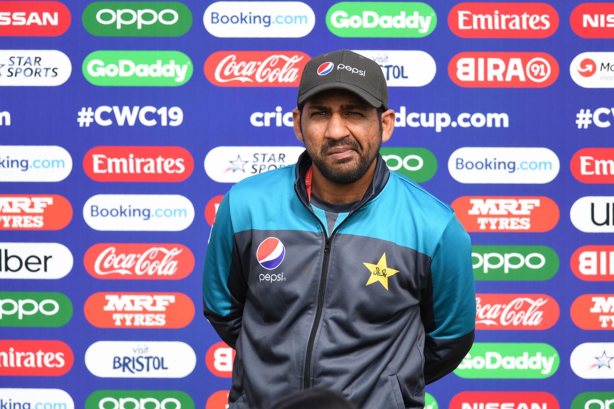 Sarfaraz backs Pakistan to maintain momentum despite rain putting paid to match against Sri Lanka at Cricket World Cup