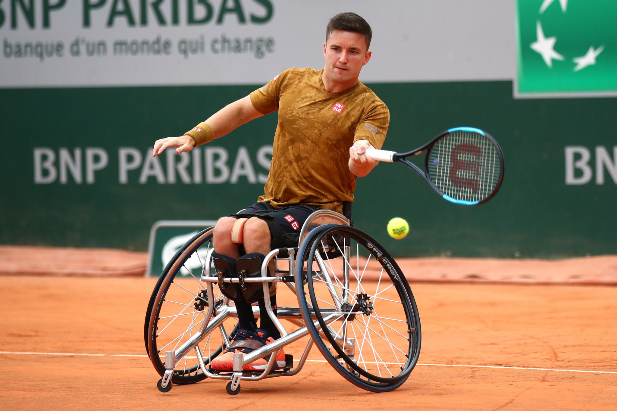 Briton Gordon Reid will face Argentina's Gustavo Fernandez in the French Open Final ©LTA