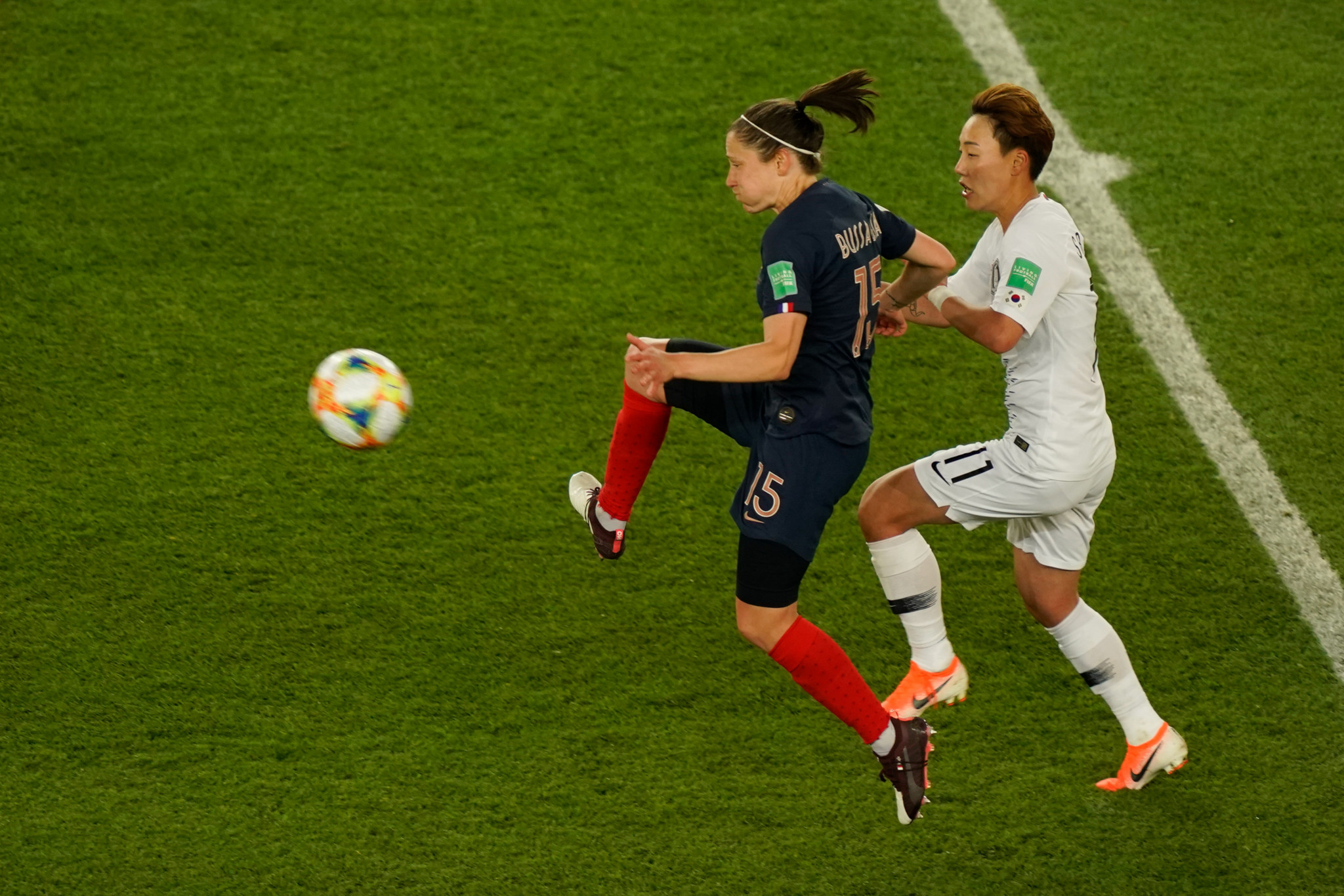 France thrash South Korea in FIFA Women's World Cup opening match