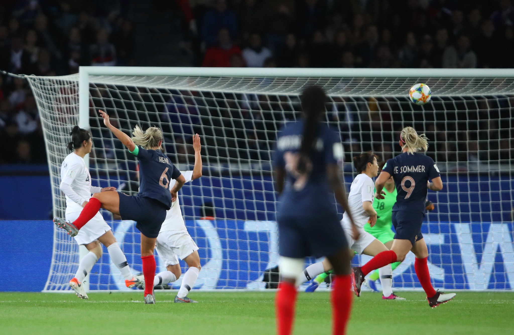 Amandine Henry was the scorer of the fourth goal in the 85th minute ©Getty Images