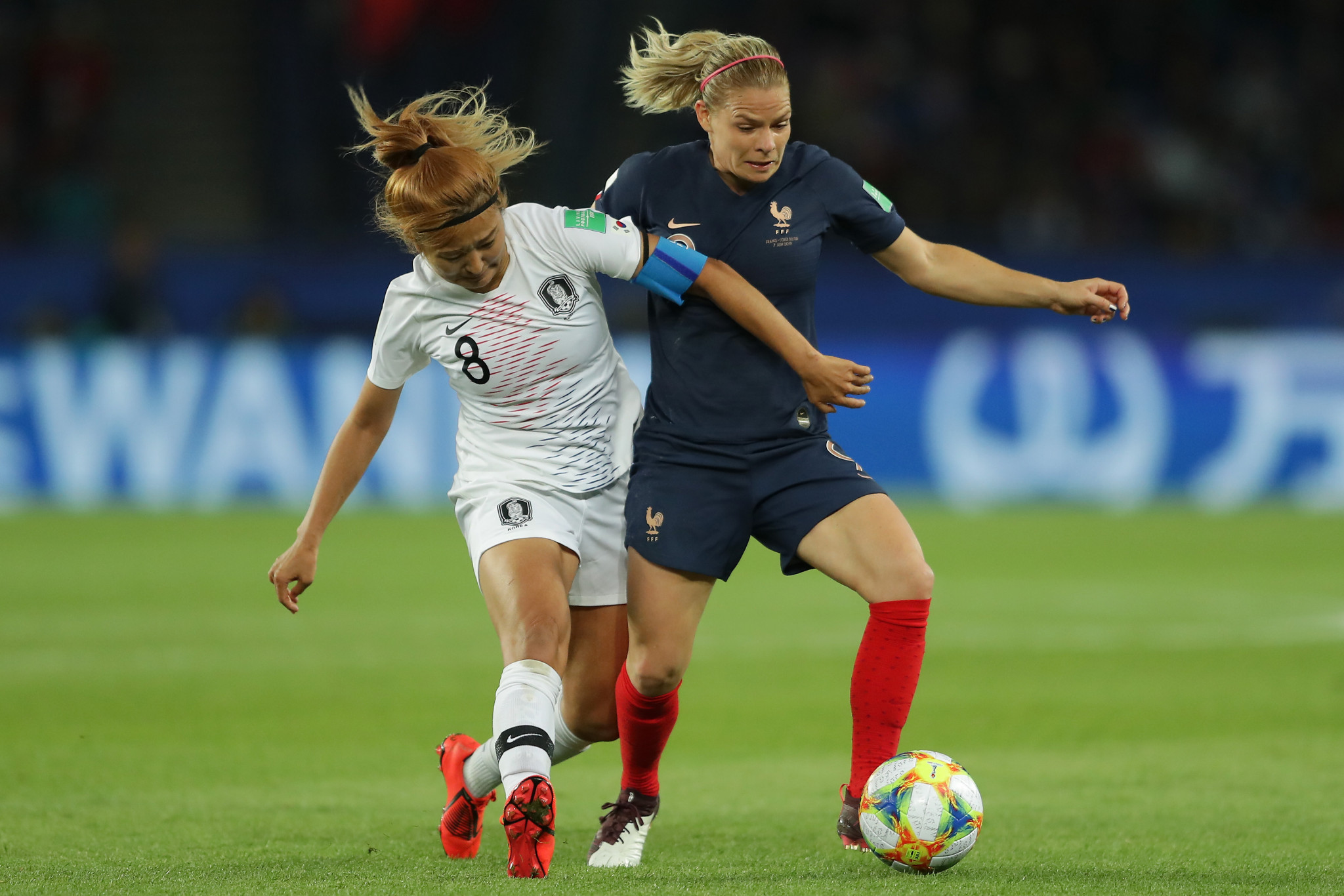 France began the match well, dominating possession in the first 10 minutes of the game ©Getty Images