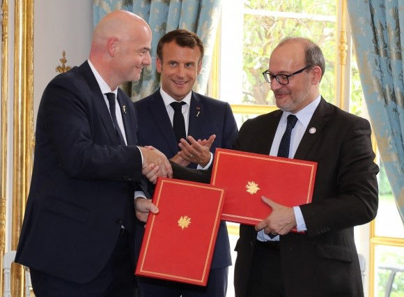 FIFA and French Development Agency sign agreement to create positive change in African society through football