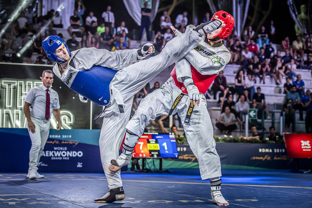 Newly crowned Russian world champion carries form into World Taekwondo Grand Prix Series