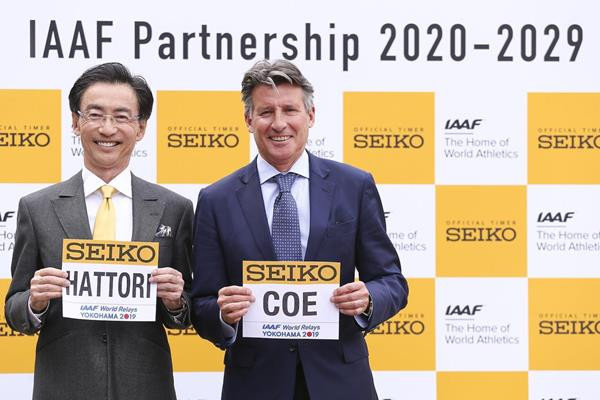 IAAF renews long-standing partnership with Seiko for further 10 years