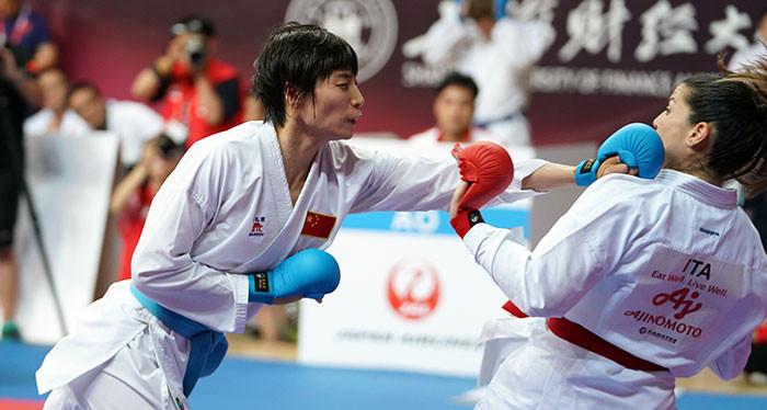 Yin to face world champion Preković in under-61kg final at WKF Karate 1-Premier League in Shanghai