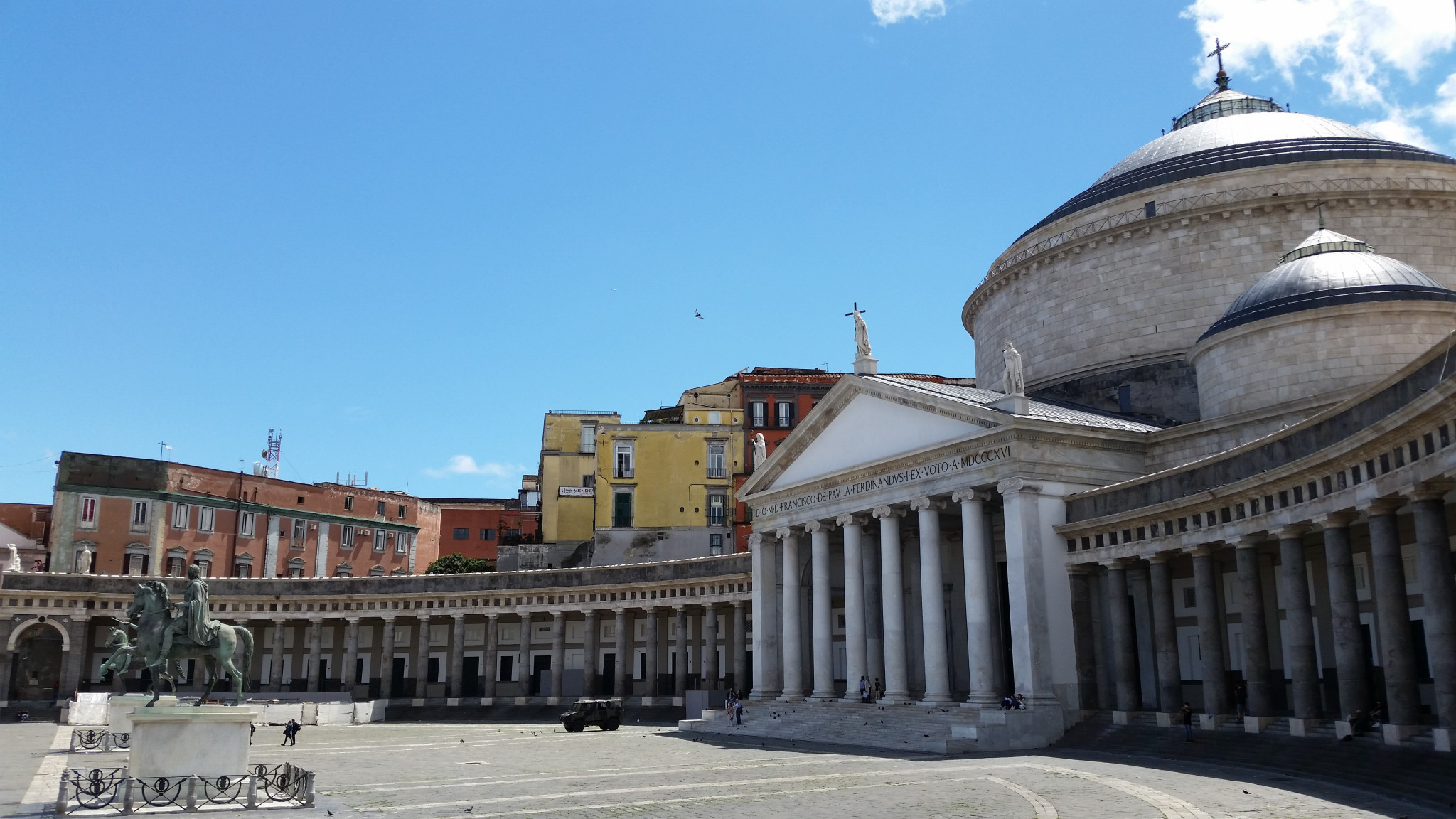 Piazza del Plebiscito in Naples has been confirmed as the venue for the 2019 Summer Universiade Closing Ceremony ©Getty Images