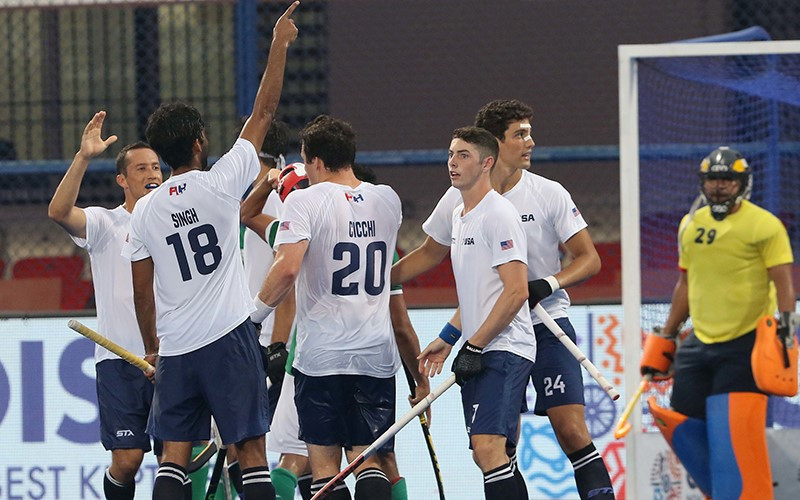 United States and Japan set up crunch Group B clash at FIH Series Finals