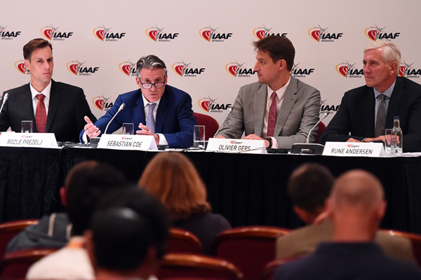 The IAAF Council meeting is taking place in Monte-Carlo, where they could decide to reinstate the Russian Athletics Federation ©IAAF