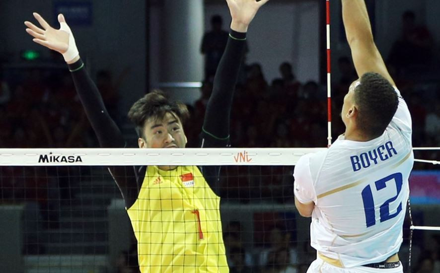 France made it five wins from five in the International Volleyball Federation Men's Nations League by defeating China at Ningbo Beilun Stadium ©FIVB