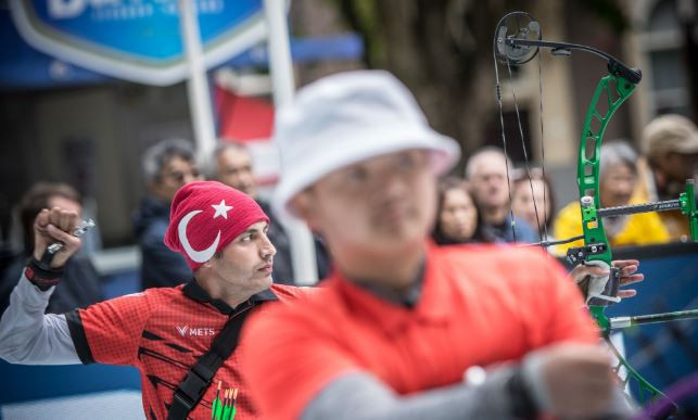 Turkey's Bahattin Hekimoglu, won gold in the men's W1 event at the World Archery Para Championships ©World Archery