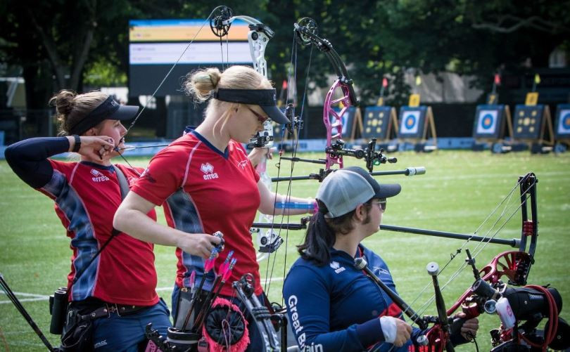 Great Britain were silver medallists in the compound women's team event at the World Archery Para Championships ©World Archery