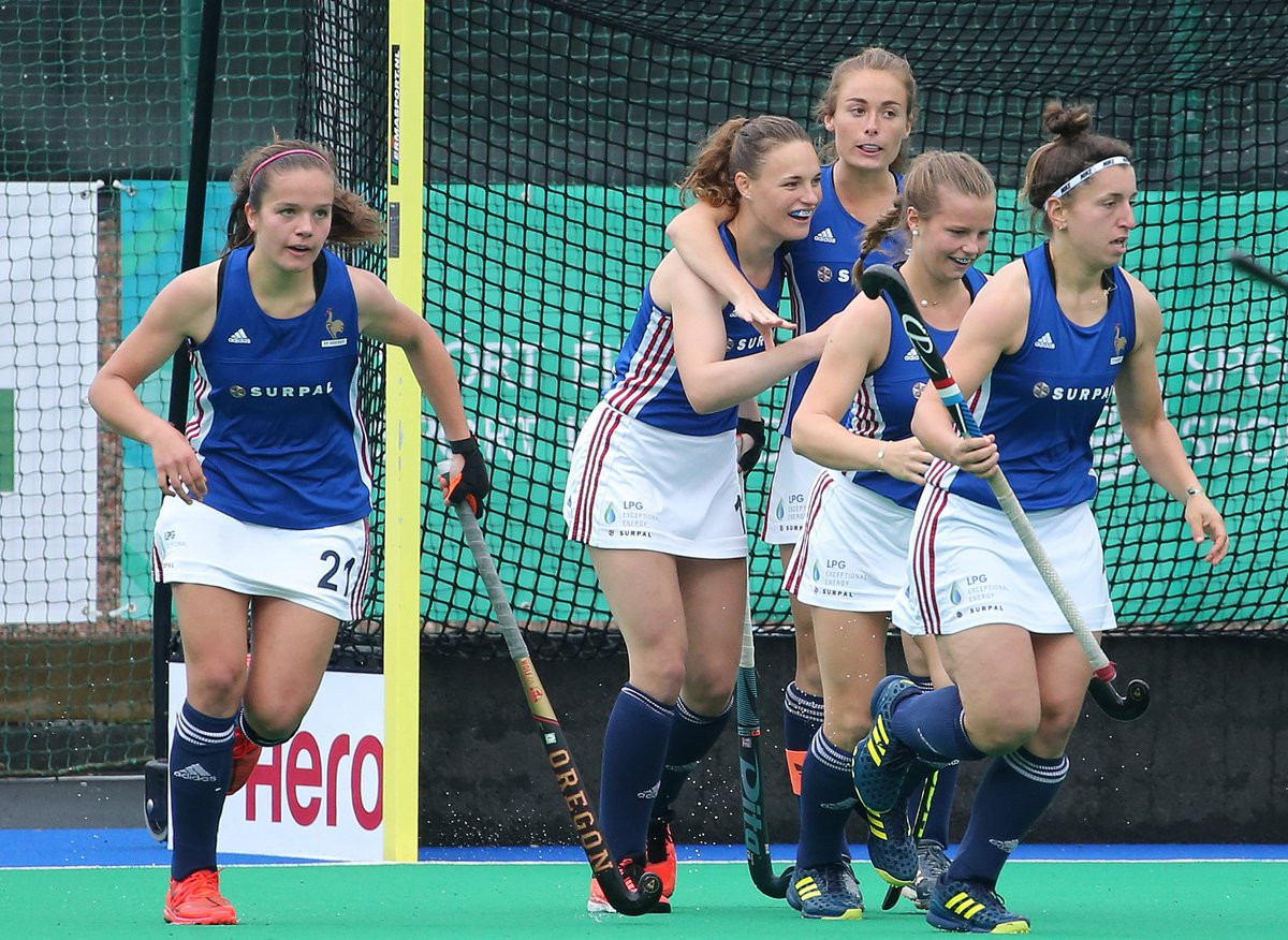 France shock Scotland on opening day of FIH Series Finals in Banbridge