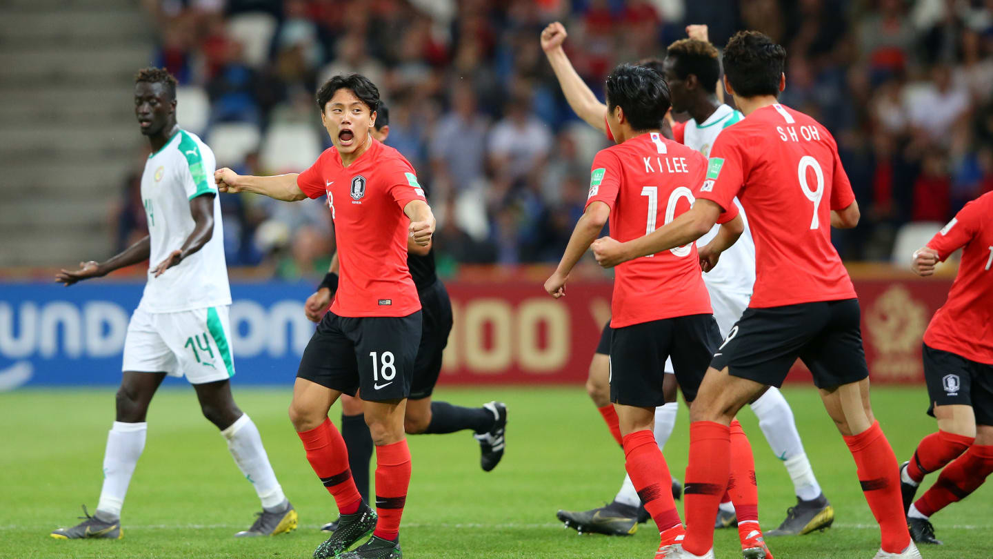 Ecuador and South Korea win through to Under-20 World Cup semi-finals