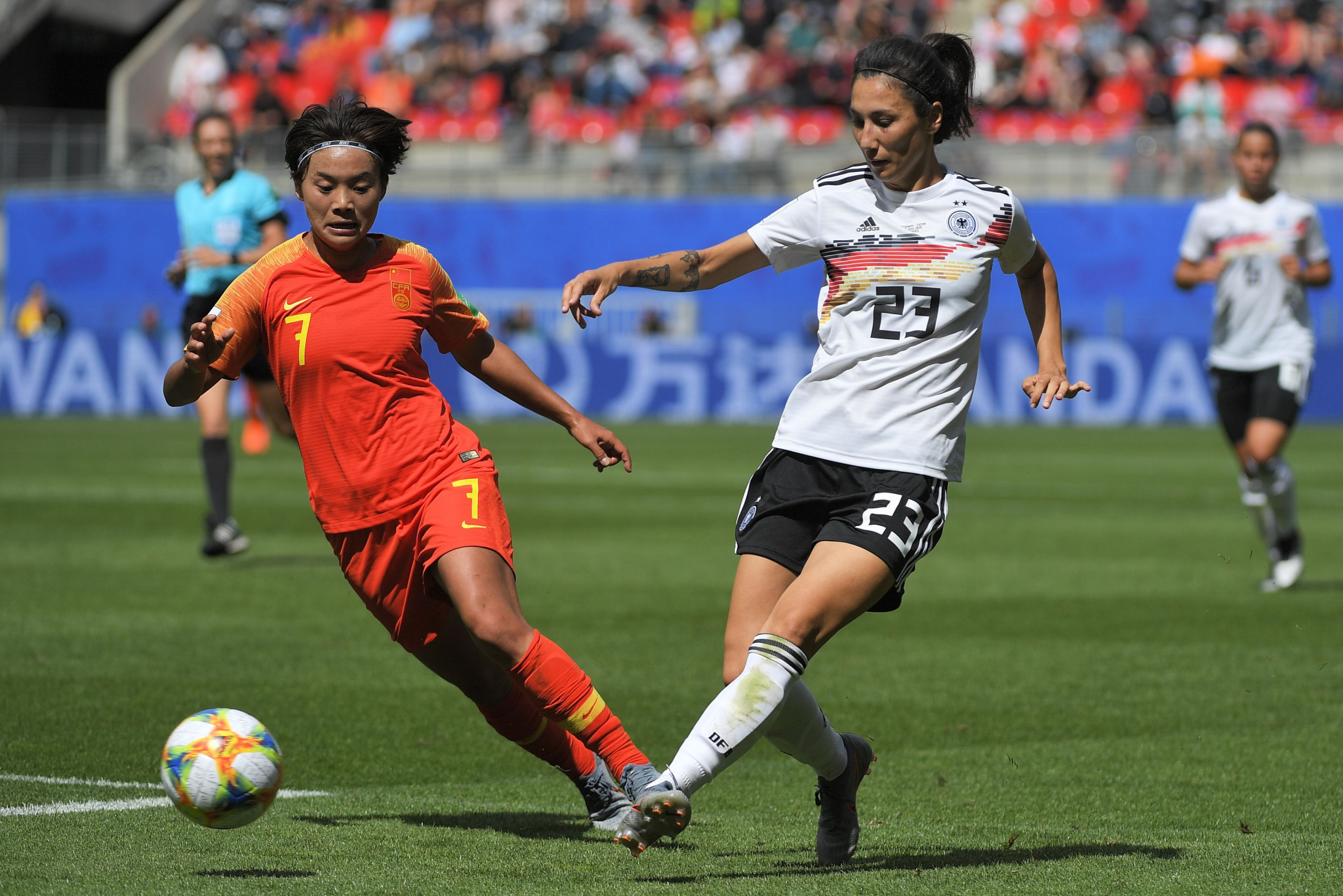 Olympic champions Germany secure unconvincing opening win at FIFA Women's World Cup