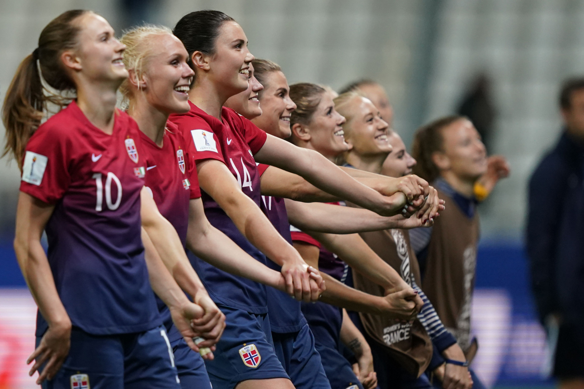 Norway eased past Nigeria in Group A of the FIFA Women's World Cup ©Getty Images
