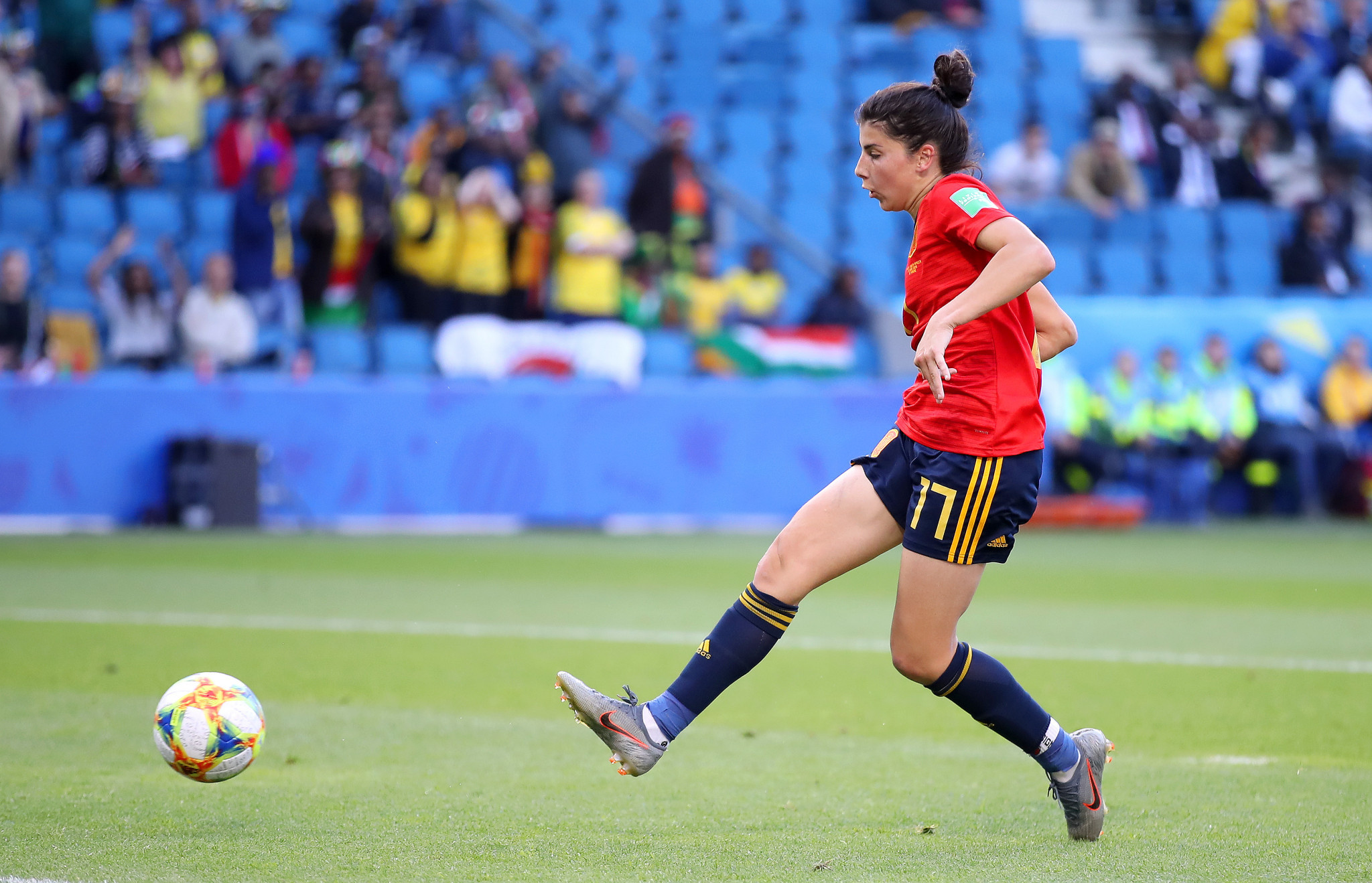 A late goal from Lucia Garcia gave Spain a 3-1 victory ©Getty Images
