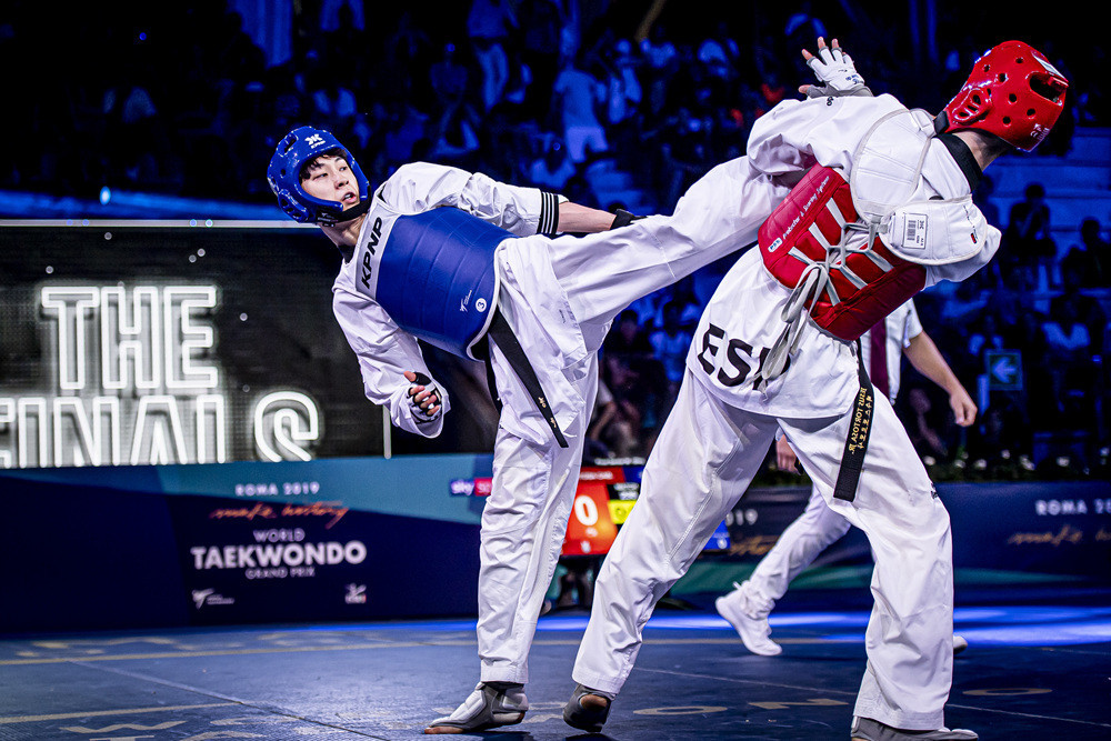 South Korea dominate on second day of World Taekwondo Rome Grand Prix
