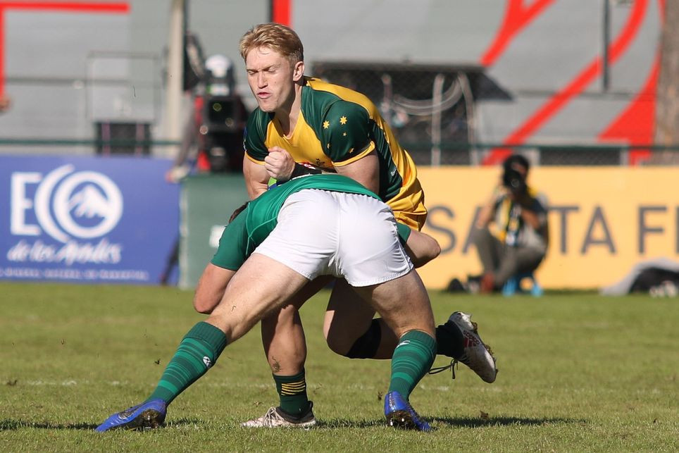 Australia book place in World Rugby Under-20 Championship semi-final with victory over Ireland