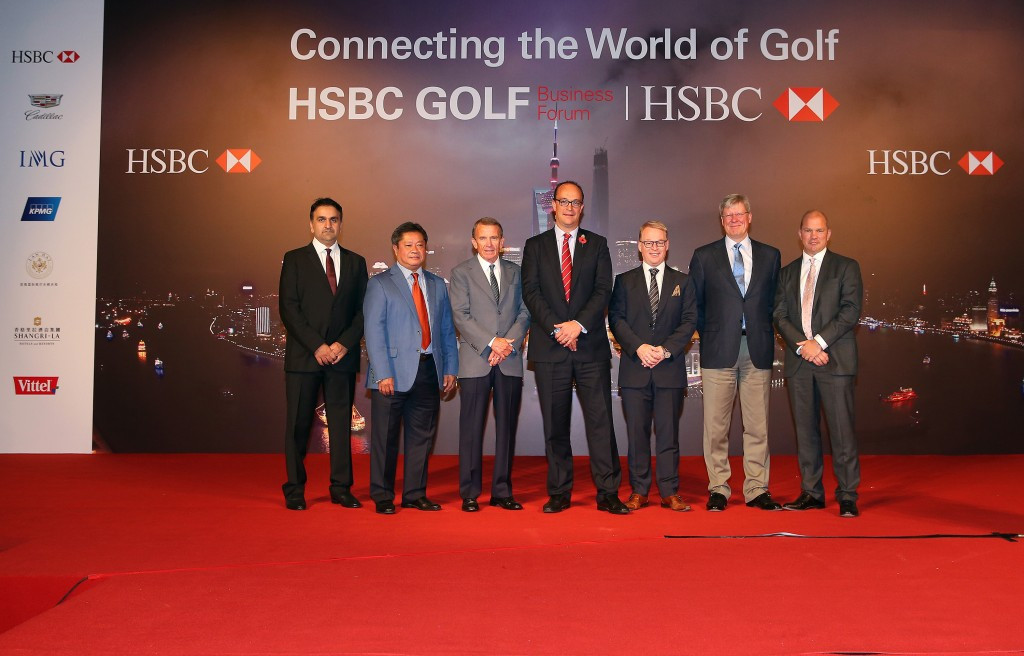 HSBC has announced the renewal of three key pillars of its global golf sponsorship ©HSBC