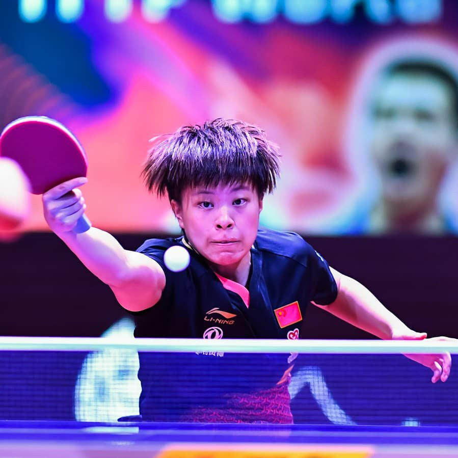 Unseeded Chinese player Wang Yidi secured her first major title ©ITTF
