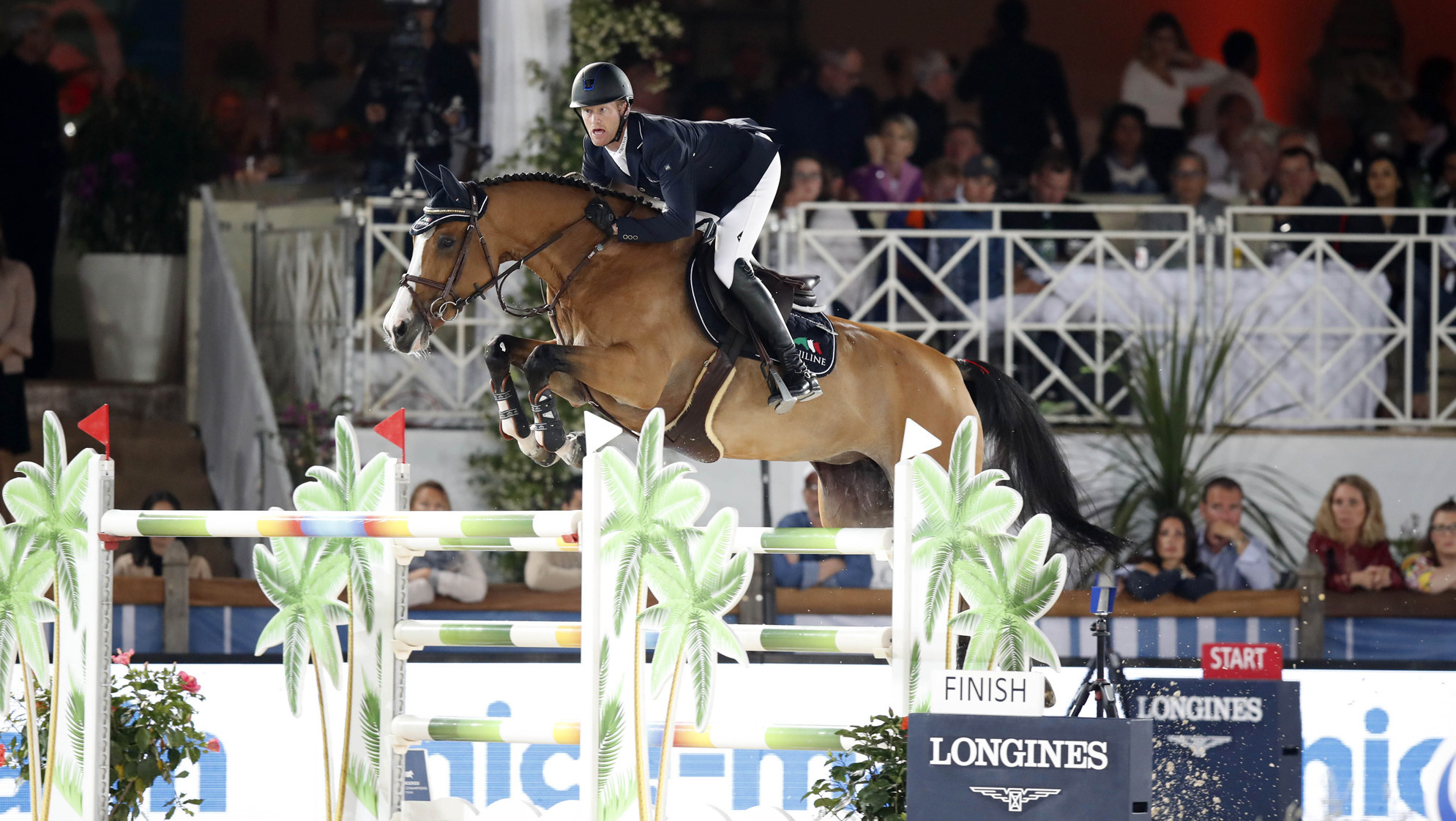 Bruynseels triumphs at Cannes Longines Global Champions Tour