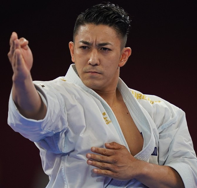 Kiyuna continues dominant run with fourth straight kata title at Karate 1-Premier League