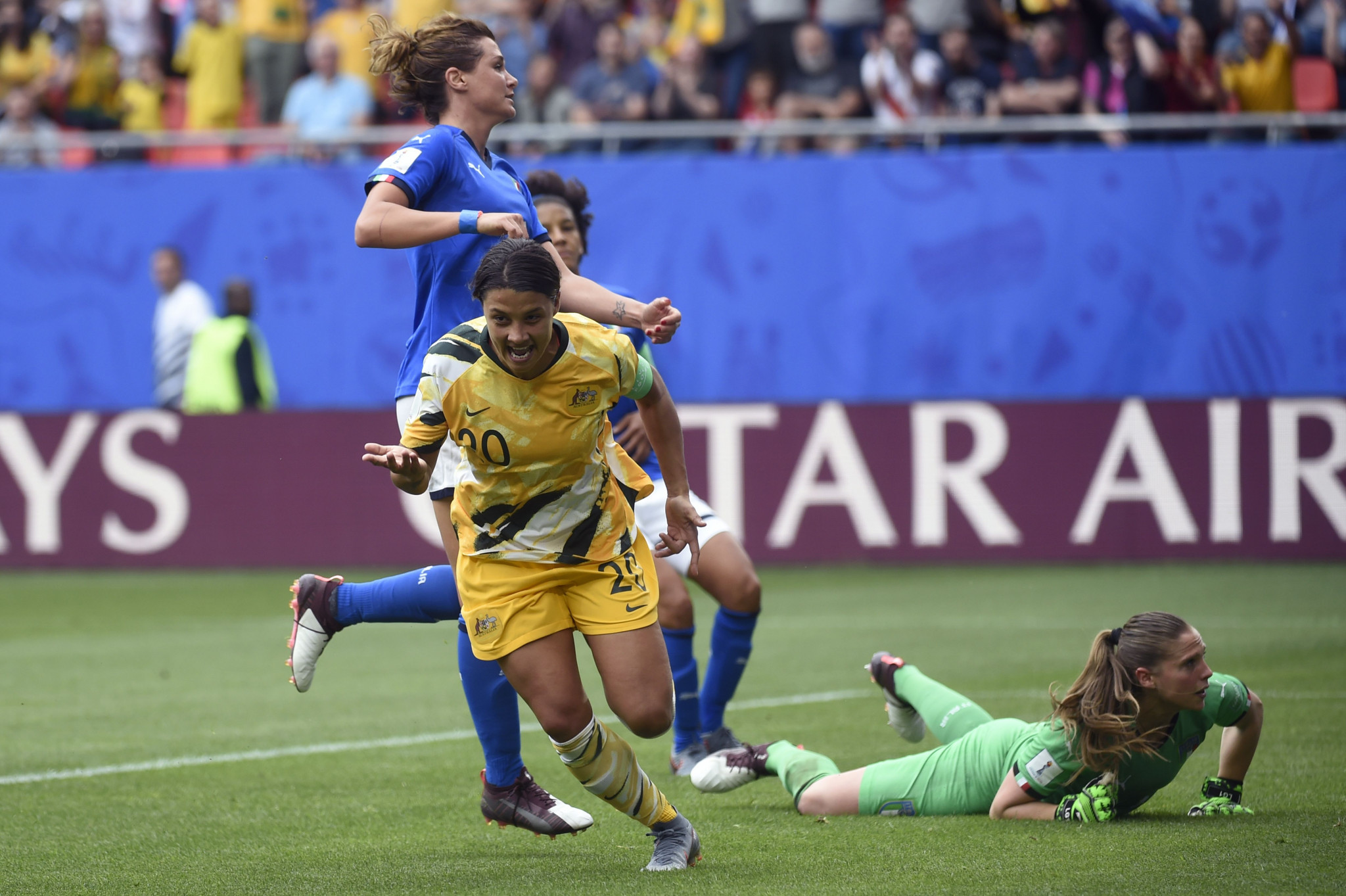 Italy upset Australia in FIFA Women's World Cup as Brazil and England record opening victories