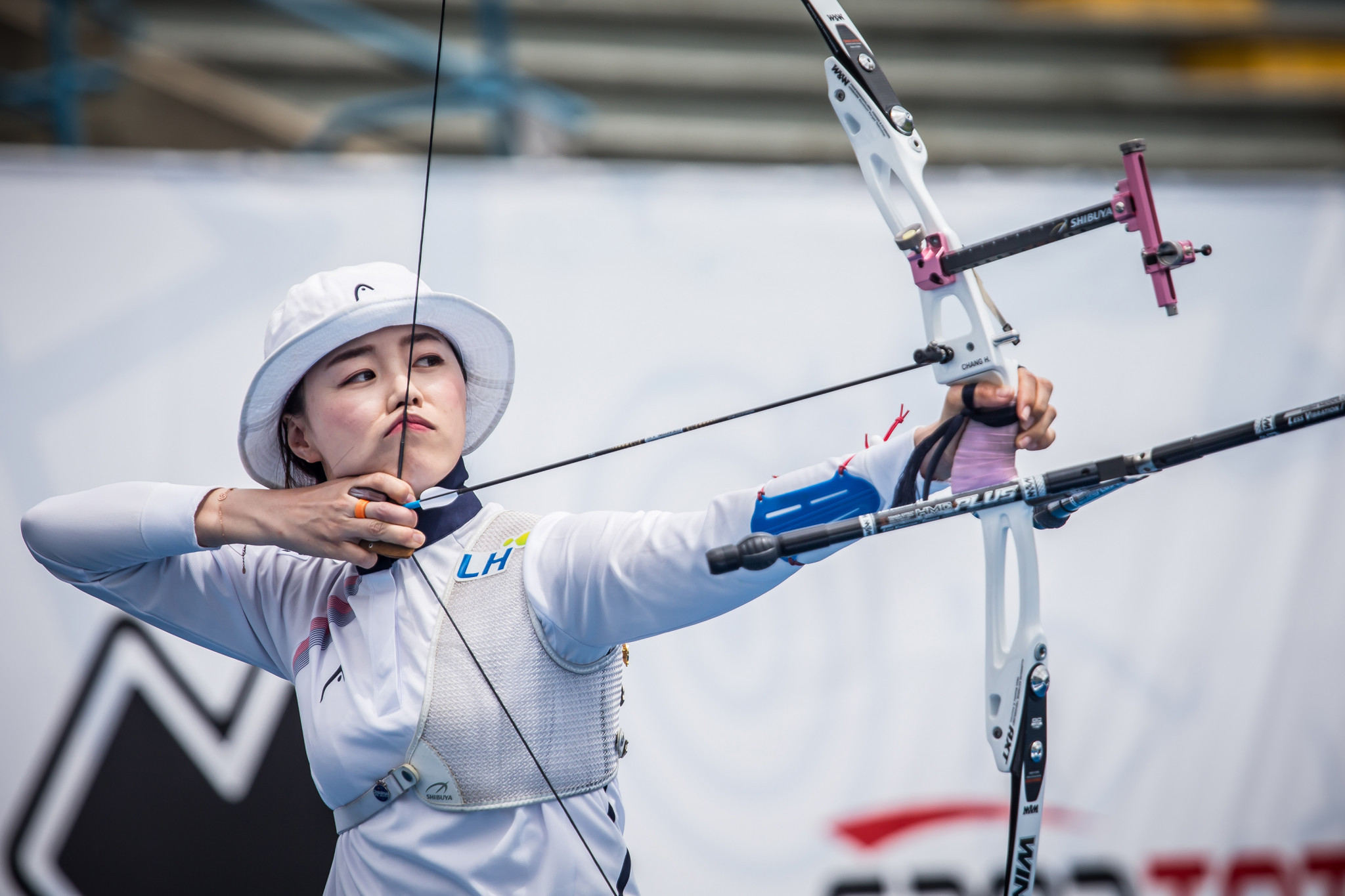 Olympic champion Chang Hye-jin will be among the contenders in the individual women's recurve event ©Getty Images
