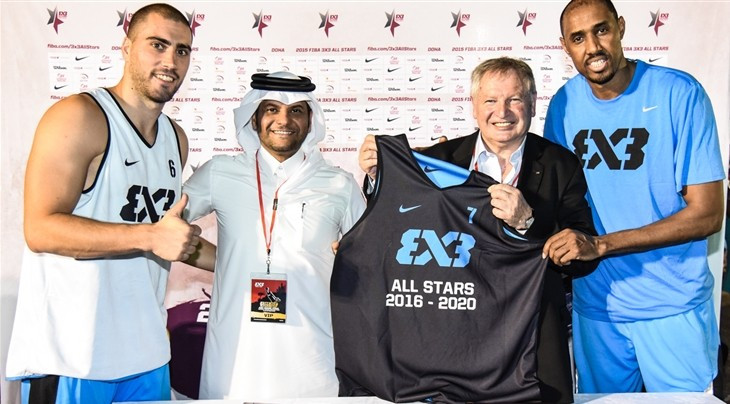 FIBA extends partnership with Qatar Basketball Federation to host 3x3 All Stars until 2020