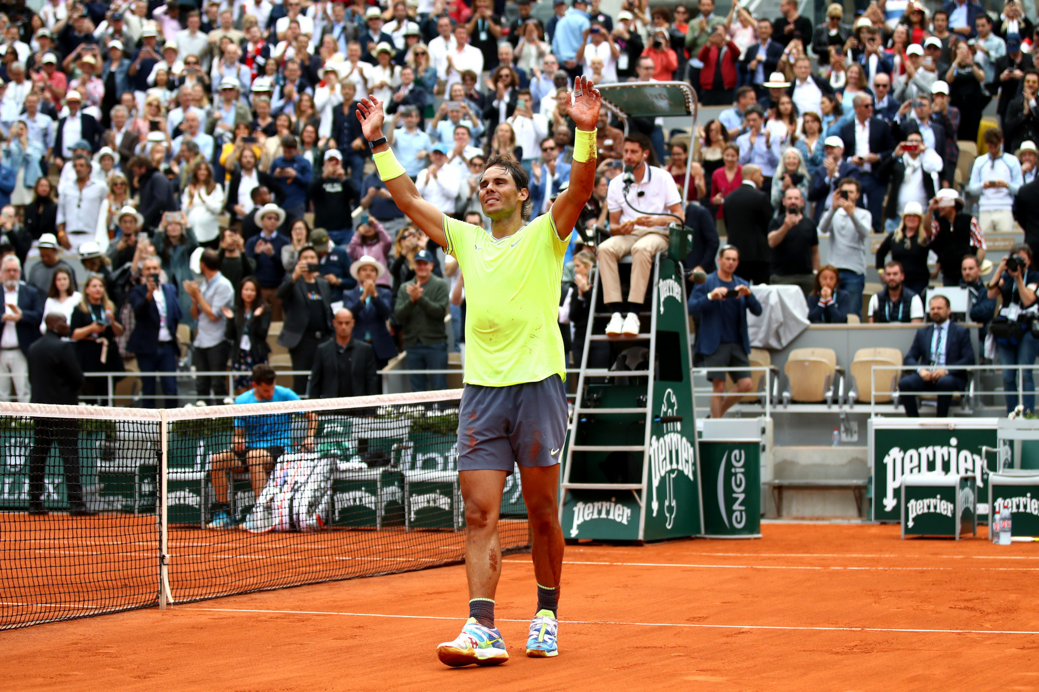Nadal brings his A-game to wrap up 12th Roland Garros crown