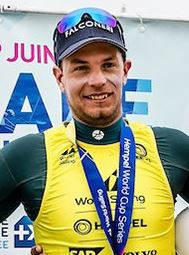 Giovanni Coccoluto won the laser class title at the Hempel World Sailing World Cup Series in Marseille ©World Sailing