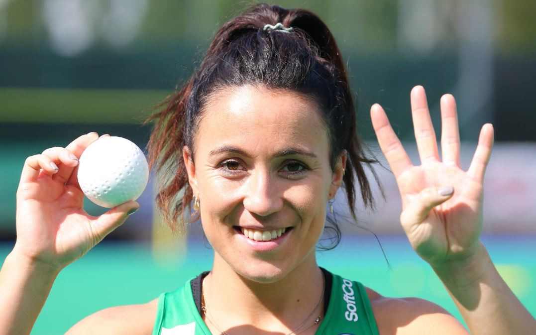 Anna O'Flanagan scored four goals as Ireland cruised to victory against the Czech Republic ©Ireland Hockey