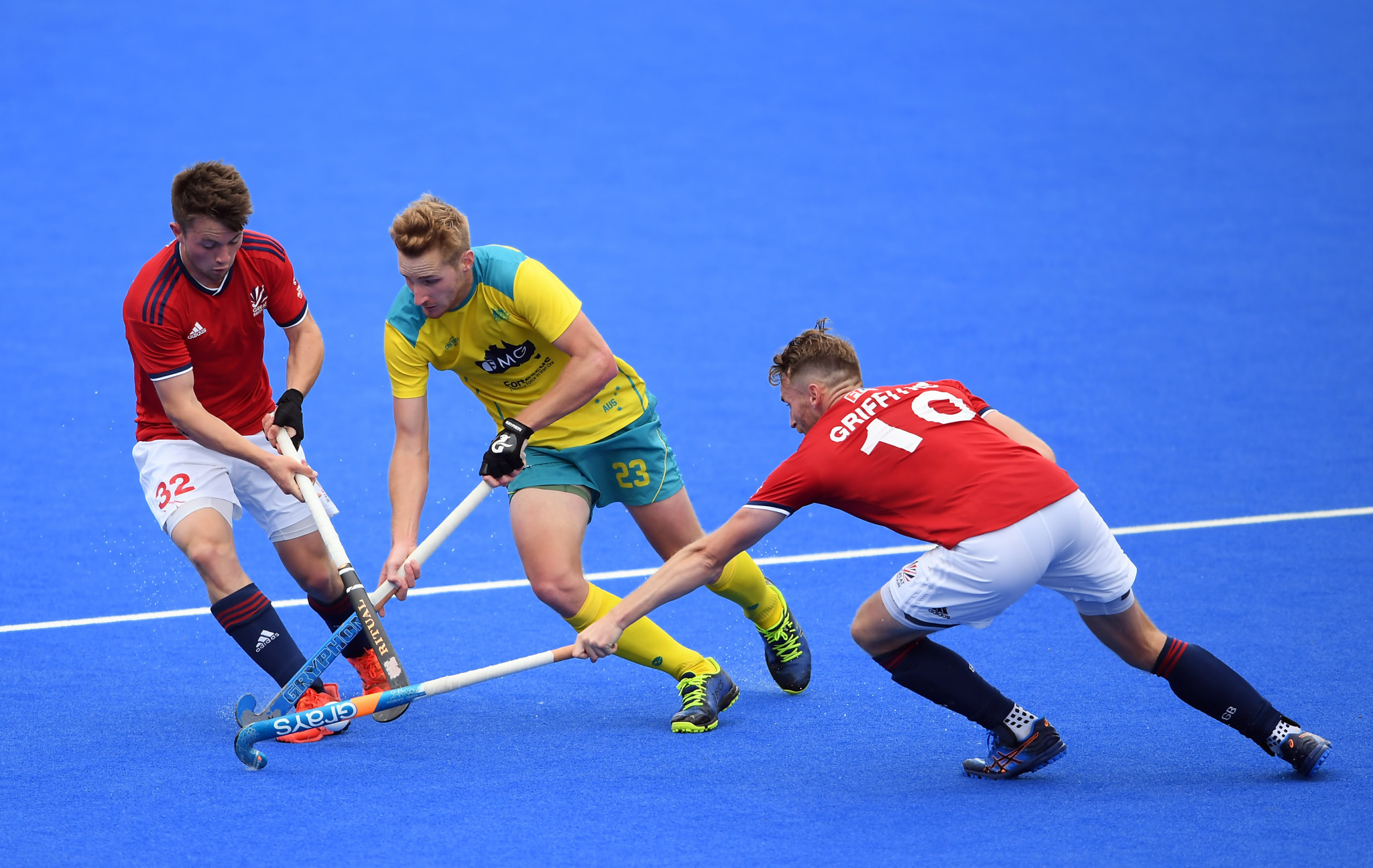 Britain beat Australia in a shoot-out in a thrilling men's match in London ©Getty Images
