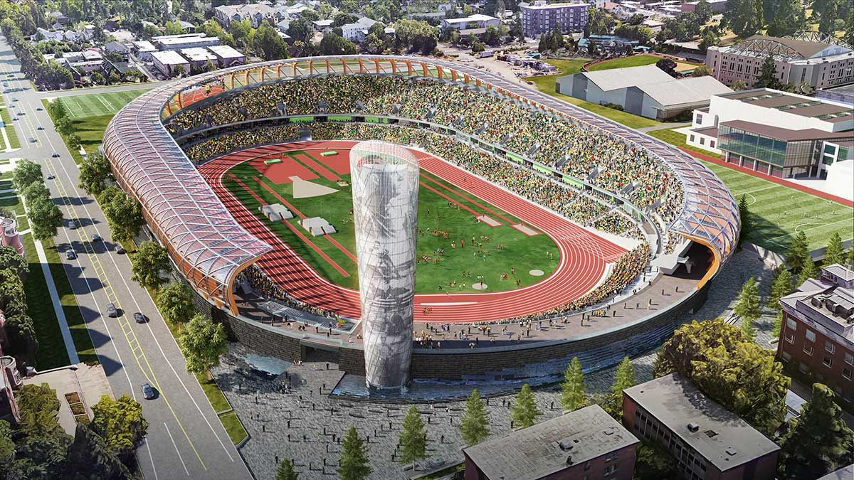 parkrun will establish a network of new events in Oregon that will remain once the 2022 World Athletics Championships at the newly-built Hayward Field have finished ©Getty Images