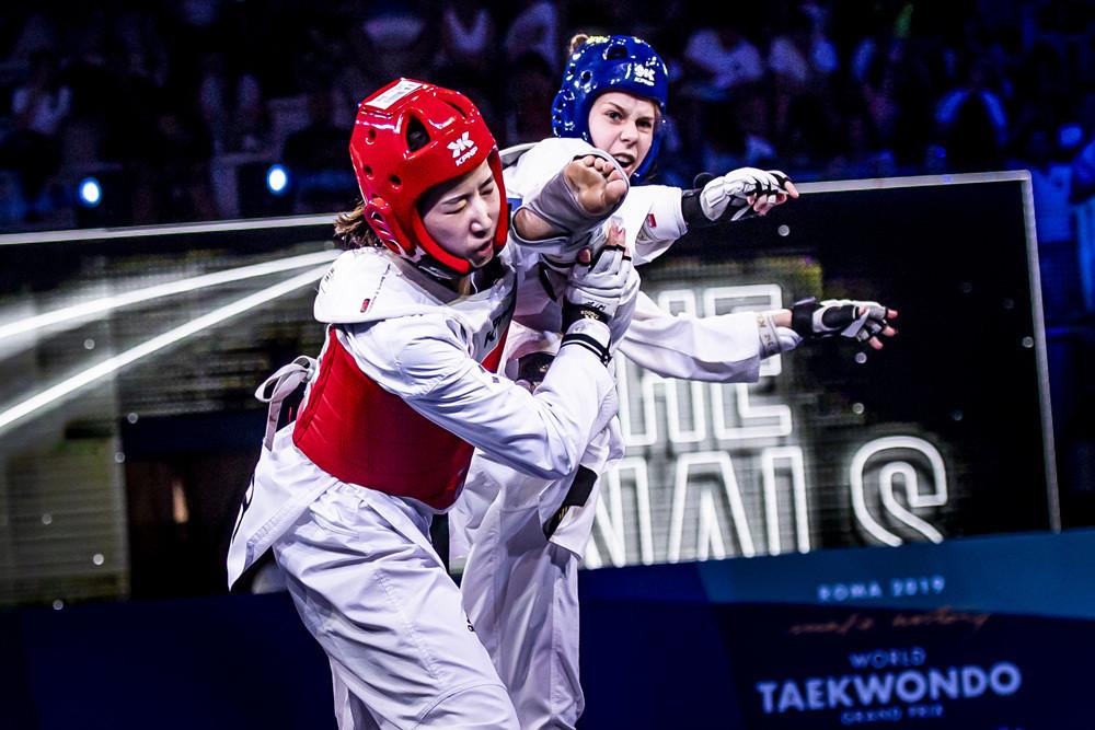World Taekwondo Grand Prix glory for Russian pair Ryadninskaya and Khramtcov
