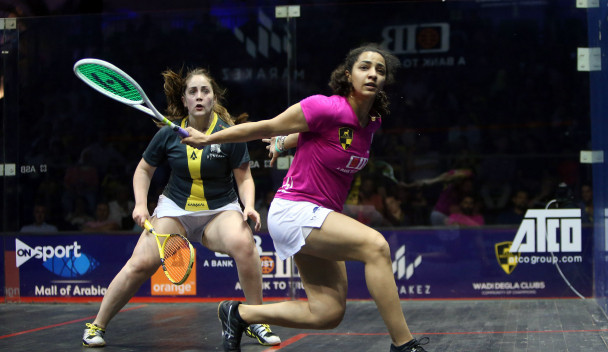 World number one Raneem El Welily of Egypt got her campaign off to the best possible start ©PSA
