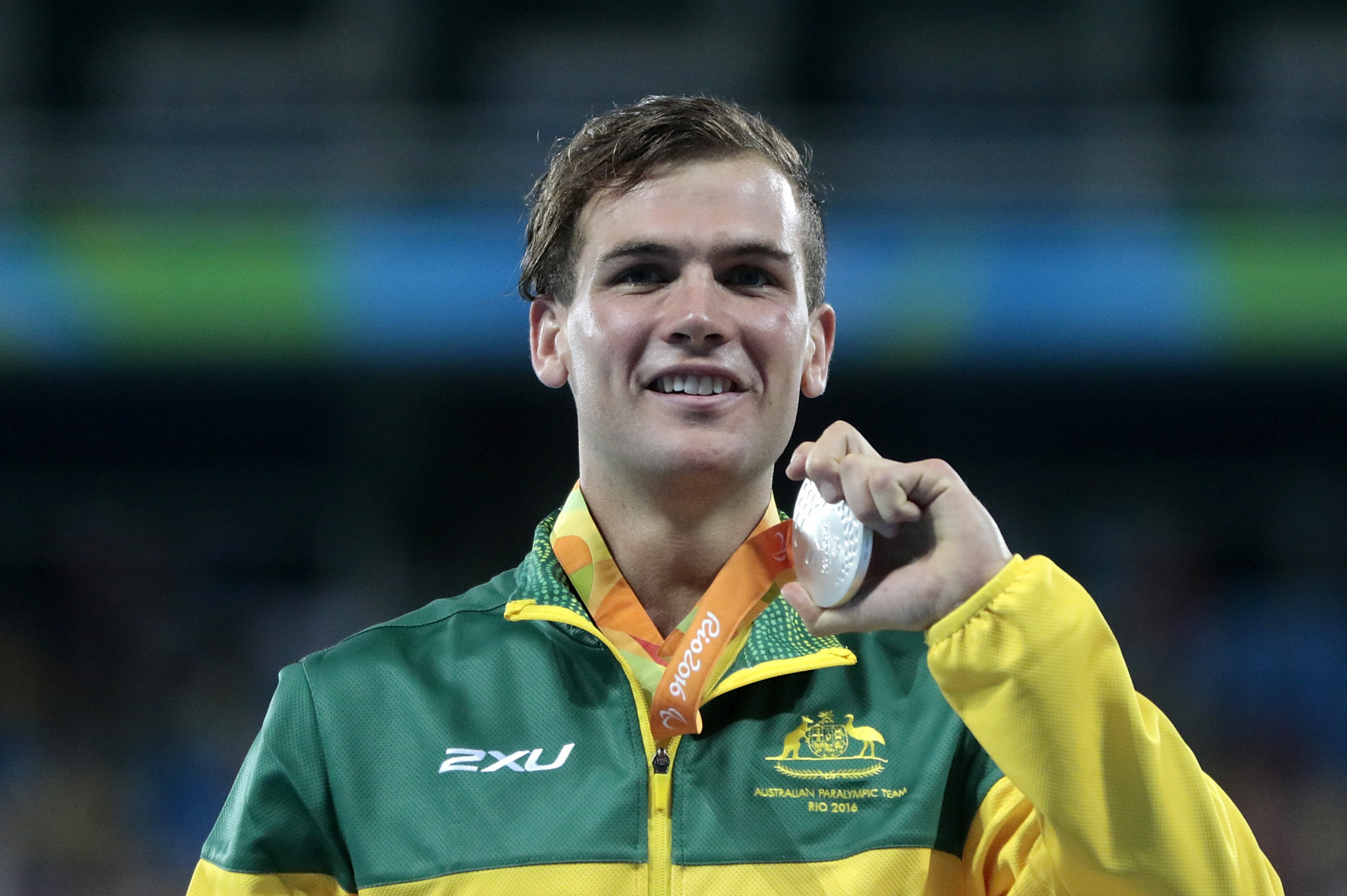 Three Tasmanian athletes won medals at the 2016 Paralympic Games, including Deon Kenzie in the T38 1500m ©Getty Images