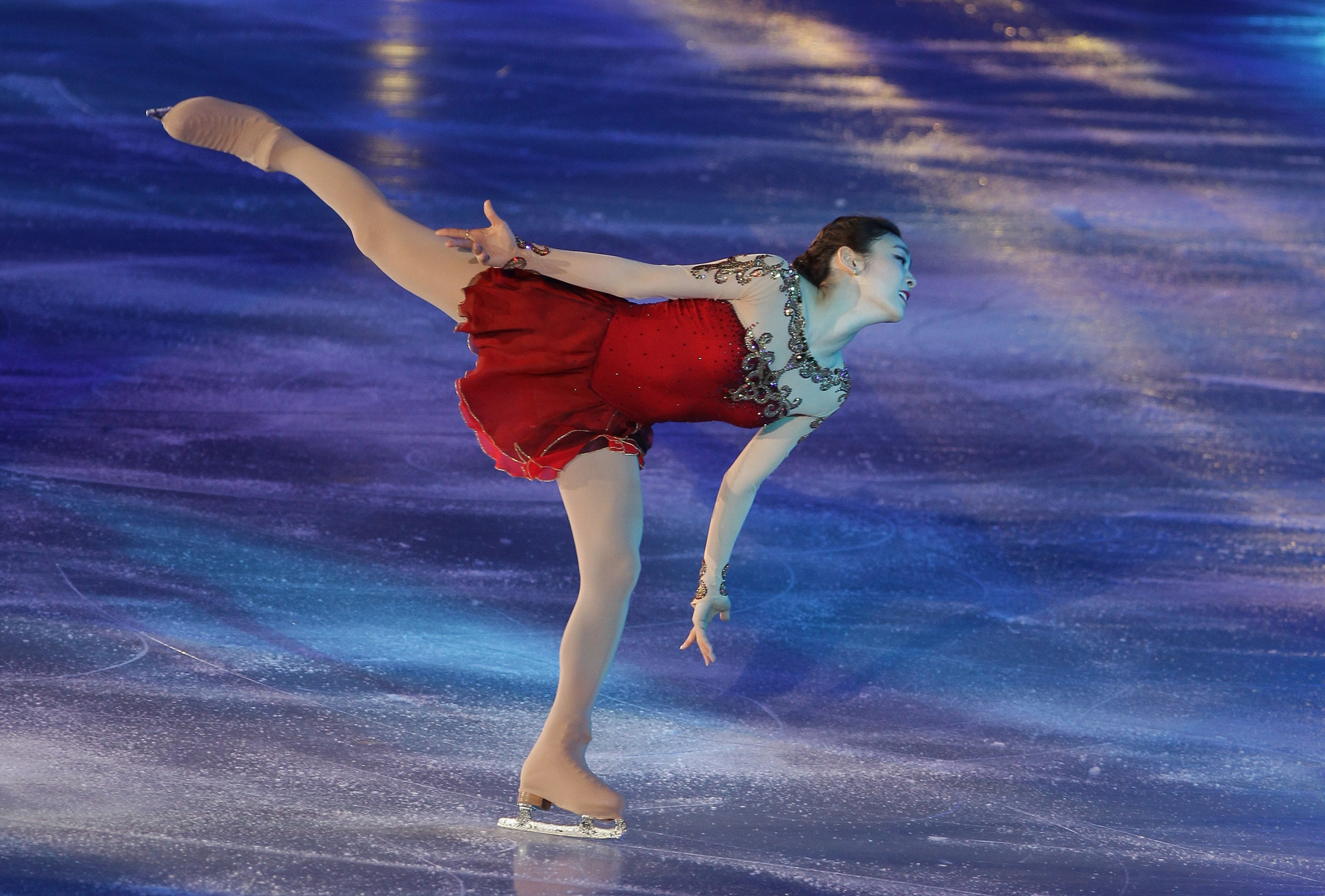 Olympic champion Kim returns to ice for All That Skate ice show