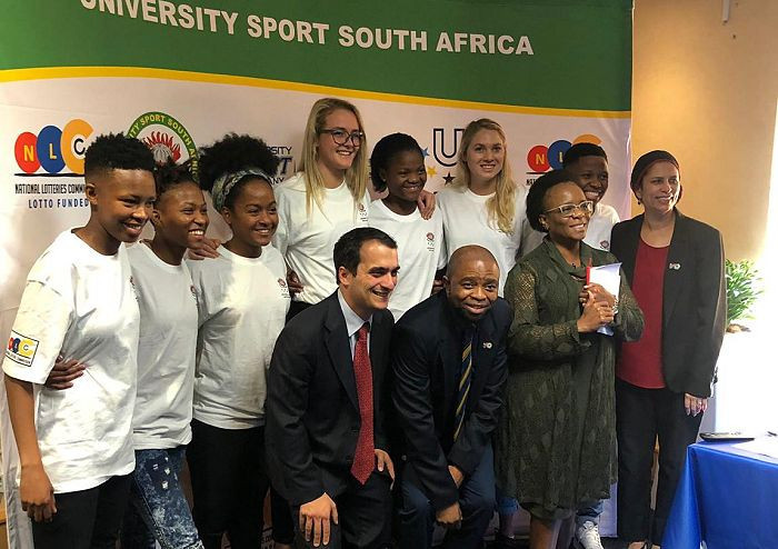 A big delegation ofathletes and support staff are set to represent South Africa at Naples 2019 ©USSA
