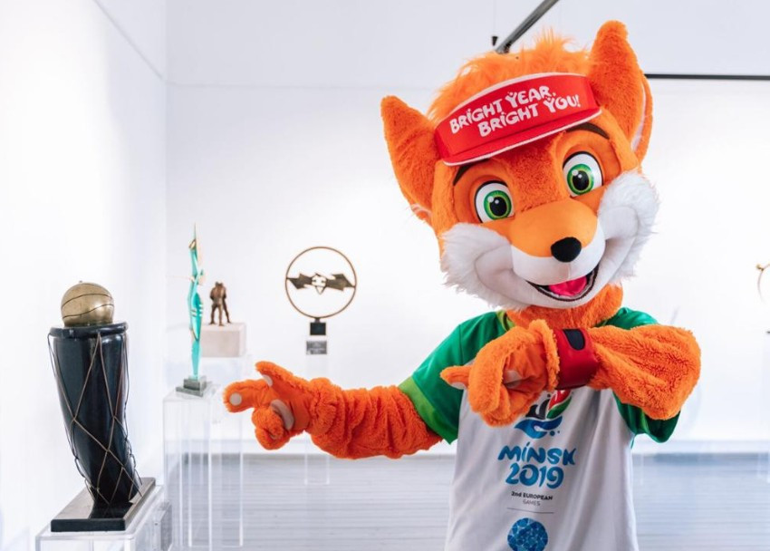 """High Art of Sport"" exhibition opens in Minsk ahead of 2019 European Games"