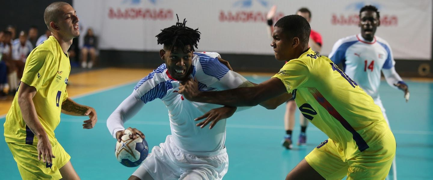Cuba, Georgia and Bulgaria maintain perfect records at IHF Emerging Nations Championship