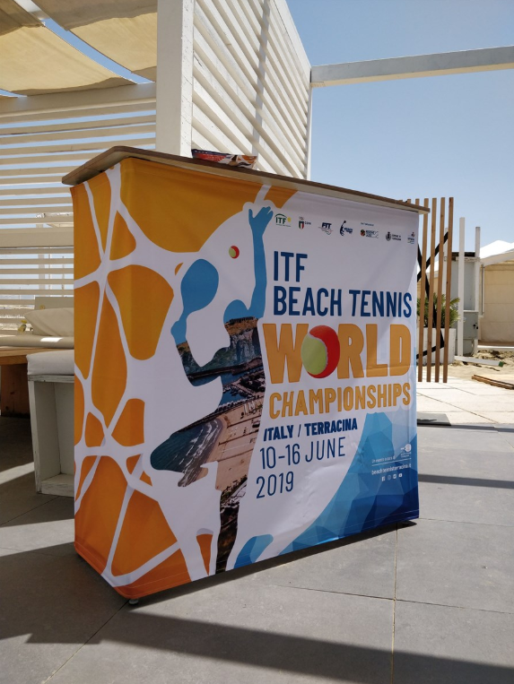 ITF Beach Tennis World Championships get underway with doubles qualifying in Terracina