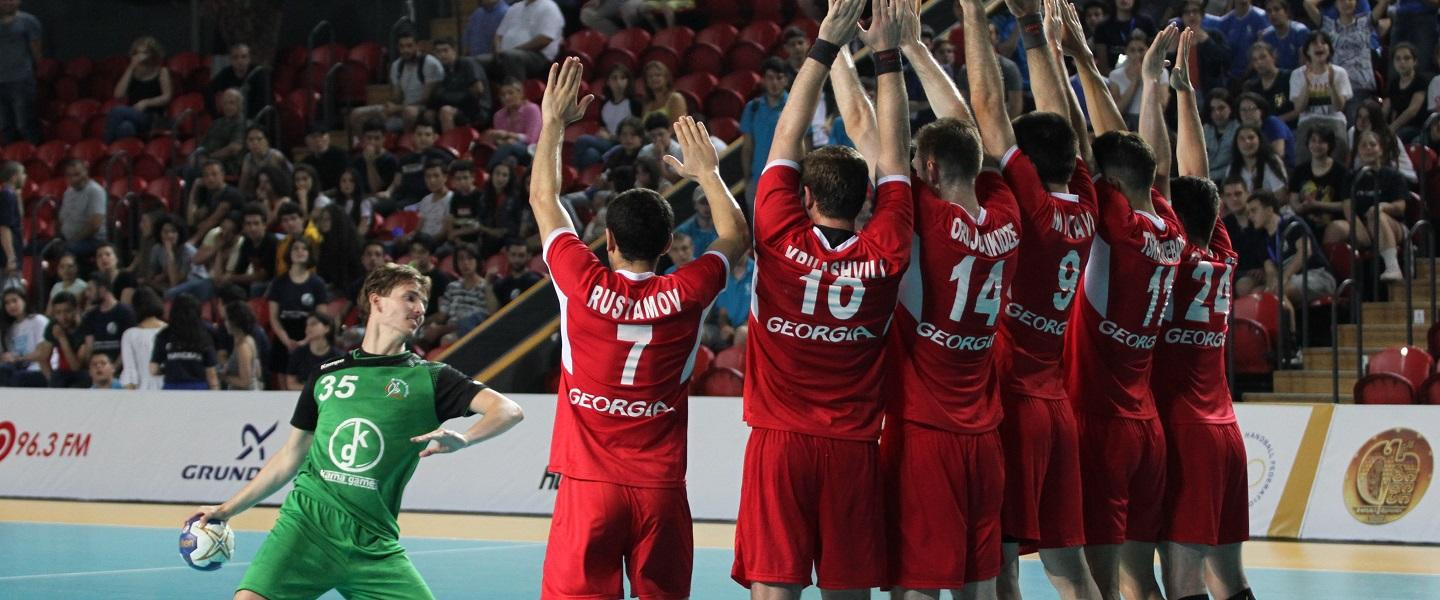 Hosts Georgia also have a 100 per cent record after three games following a 37-17 victory over Ireland ©IHF