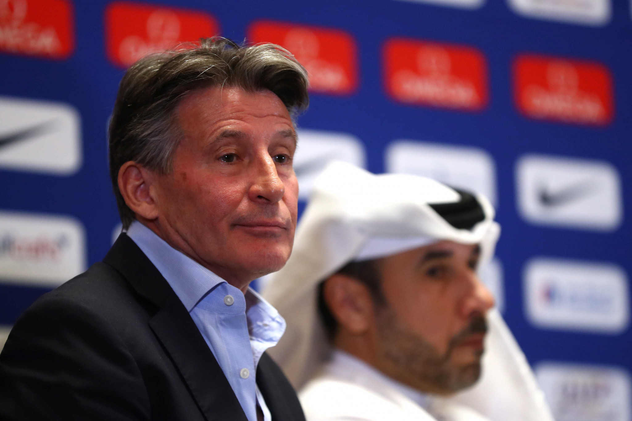 Sebastian Coe is set to be unopposed when he seeks re-election for a second term as IAAF President later ©Getty Images
