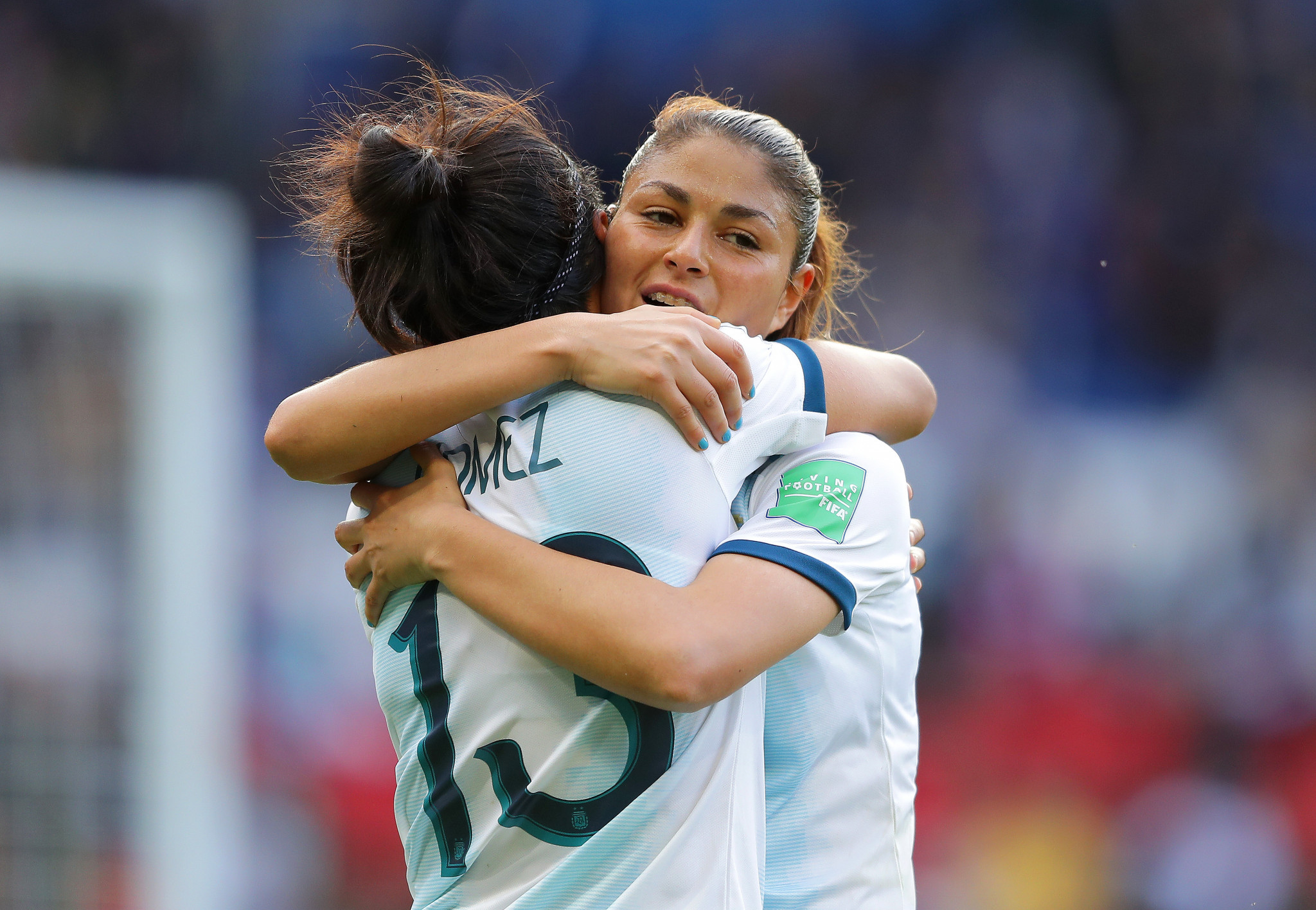 Emotions high as Argentina make FIFA Women's World Cup history at Parc des Princes